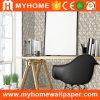 ホーム装飾3Dの壁紙ホイルのビニール
