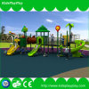 Kind-im Freien Handelsspielplatz-Gerät mit rostfreiem Plättchen