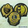 Fabrik-kundenspezifisches Metalldraht-Stickerei-Abzeichen 220