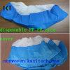 Cubierta médica antideslizante disponible Kxt-Sc19 confeccionado del zapato del Nonwoven PP/PE/CPE