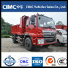 Foton 4X2 Small Dump Truck per Transporting Sand in Construction