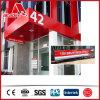 建物Material 2mm-6mm Exterior Aluminium Composite Facias Panel