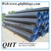 Tubulação de aço sem emenda laminada a alta temperatura preta da pintura ASTM A106