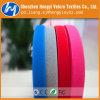 Velcro side-by-side colorido personalizado do gancho & da cinta plástica do laço
