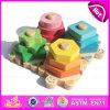 Комплект игрушки горячего сбывания 2015 деревянный геометрический, новая деревянная геометрическая игрушка установленная для младенца, воспитательная деревянная геометрическая игрушка установленное W13e057