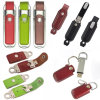 Keychainの革USB Flash Drive Memory