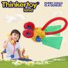 Brinquedo animal encantador do modelo DIY para blocos de apartamentos da criança dos miúdos