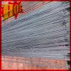 Alambre Titanium superficial brillante en forma recta