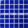 azulejo de mosaico de cerámica de la piscina de Carckle del hielo azul marino de 48X48m m (BCK646)