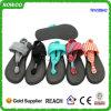 Sandalias suaves cómodas de Bling de la honda del fracaso de tirón de la estera de la yoga (RW28842)