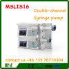 Bomba de dos vías Mslis16 de la jeringuilla de la infusión