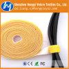 Gancho personalizado & laço de retorno ao laço de fio traseiro de Velcro