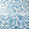 mosaico de vidro de derretimento da piscina da mistura azul de 15X15mm (BGC019)
