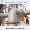 Système de gaz médical industriel chimique de fabrication de la Chine S-05