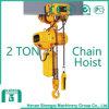 Shengqi 2016 2 Ton Electric Chain Hoist con Hook Block