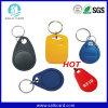 Material T5577 RFID que pode escrever-se esperto Keyfob do ABS do padrão de ISO