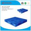 Da grade elevada da maneira do dever 4 do armazenamento do armazém pálete plástica (ZG-1411)
