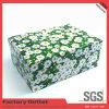 Rectángulo de empaquetado de la talla de la cartulina del papel de regalo del contrato de encargo de lujo del rectángulo