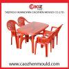 Plastik spritzte Arm-Stuhl/rechteckige Tisch-Form ein