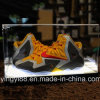 Zoll gravierter Acrylschuh-Kasten mit LED