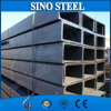 Tubulação de aço Pre-Galvanizada redonda estrutural 100*50*2mm do carbono