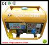 1kVA 1.5kVA 2kVA, 2.5kVA, sistema de generador de la gasolina de Manuel del comienzo de la mano 3kVA