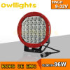 4X4 Accessory 12V 9  96W High Power LED Driving Light