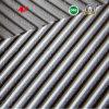줄무늬 패턴 원료 합성 물질 가죽