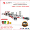 PC Doppelschrauben-Blatt-Gepäck-Strangpresßling-Plastikextruder-Zeile Maschine