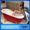 Bañera de acrílico libre, baño del pie de la garra, bañera clásica