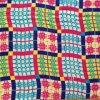 Напечатанная Silk сетка шерстей и рейон шелка шифоновый