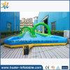 2016 juegos interesantes, diapositiva de agua larga de la diapositiva inflable de la ciudad para la venta