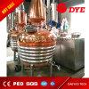 300Lウィスキー、ブランデー、ラム酒のためのドイツの技術の銅の鍋の蒸留器