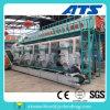Terminar la cadena de producción de madera de la pelotilla 1-10t/H línea acuciante de madera