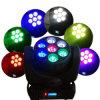 LEDの段階ライト7*12W RGBW LEDビーム移動ヘッド
