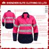 Ciao cioè Workwear riflettente di colore rosa del cotone di sicurezza per le donne