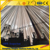 Aluminiumlegierung-Profil für Vorhang-Spur-Profil-hängenden Schienen-Strangpresßling