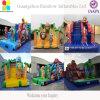 遊園地のInflatablesの報復者の炎の警備員のInflatablesのスライド