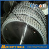 La circular del T.C.T vio las láminas para el corte de aluminio