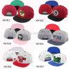 Tampão Hip dos chapéus POM do Snapback dos homens não organizados plásticos para jovens
