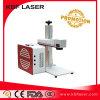 20With30With50W Machine van de Teller van de Laser van de Vezel van de bevordering de Draagbare voor het Staal van het Titanium