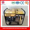 generatore di potere 3kw con il tipo aperto inizio del diesel di ritrazione