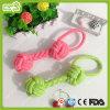 Producto del animal doméstico del algodón de las bolas del Chew del color del caramelo del perro