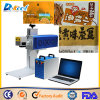 Indústria do pacote da máquina da fixação de datas da produção alimentar do marcador do laser do CNC