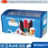 Handelsgefriermaschine-Eiscreme-Bildschirmanzeige-Gefriermaschine-Glastür-Tiefkühltruhe