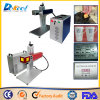 Metal de la máquina de la marca del laser de la fibra de 3D 20W/taza modificados para requisitos particulares/botella/artes de madera