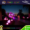 Cambia de Color Ball Pool Ronda decorativo exterior LED
