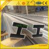 Profil en aluminium personnalisé de balustrade avec les extrusions en aluminium