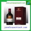 High-End Vakje van de Gift van het Document van het Vakje van de Fles van de Wijn het Verpakkende