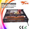 3600watts I-Technologie 18000 Versterker van de Macht van DJ de Correcte